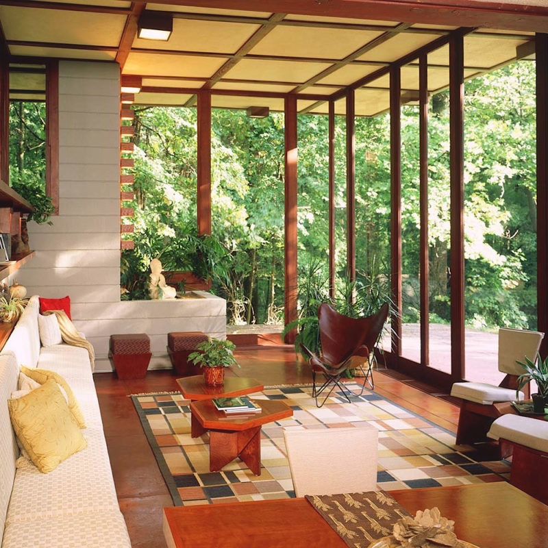 Designtel - Louis Penfield House, Frank Lloyd Wright