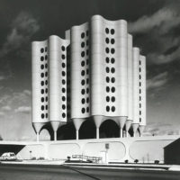 Designtel - St. Joseph's Hospital, Bertrand Goldberg