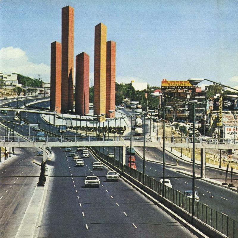 Designtel - Satellite Towers, Luis Barragán