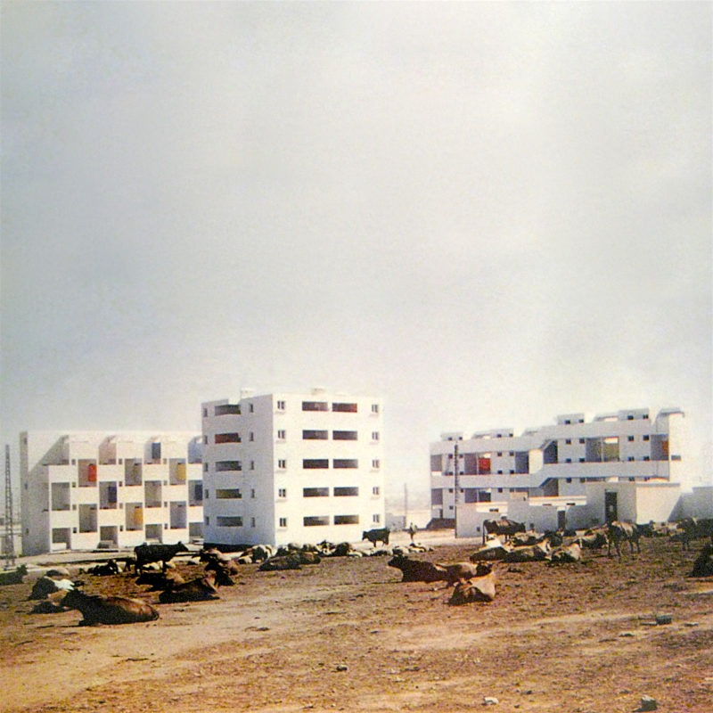 Designtel - Carrière Centrale Housing, Georges Candilis and Shadrach Woods