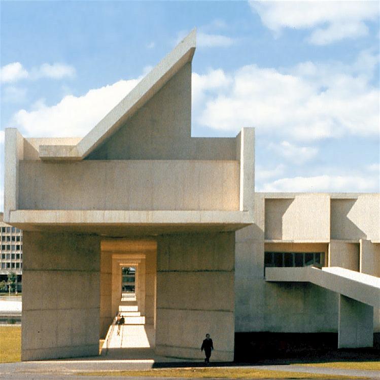 Designtel - UMass Fine Arts Center, Roche Dinkeloo
