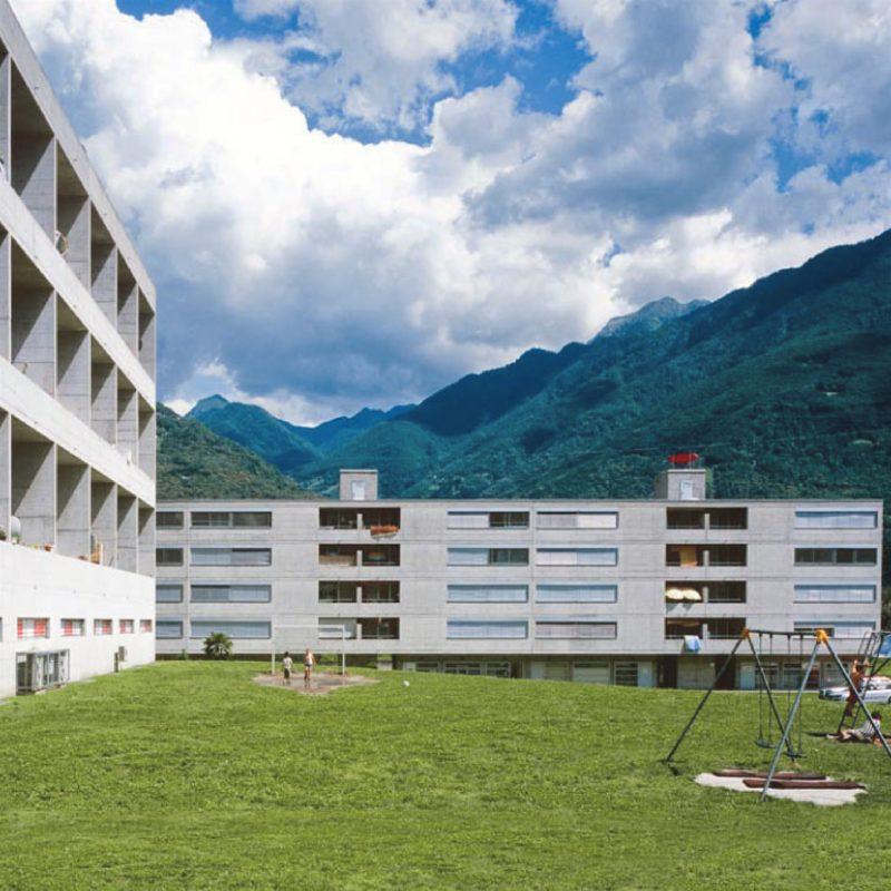 Designtel - Monte Carasso, Luigi Snozzi
