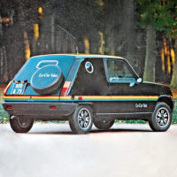 Designtel - Renault 5 Le Car Van, Heuliez