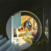 Designtel - Simons Residence, Arthur Erickson and Geoffrey Massey