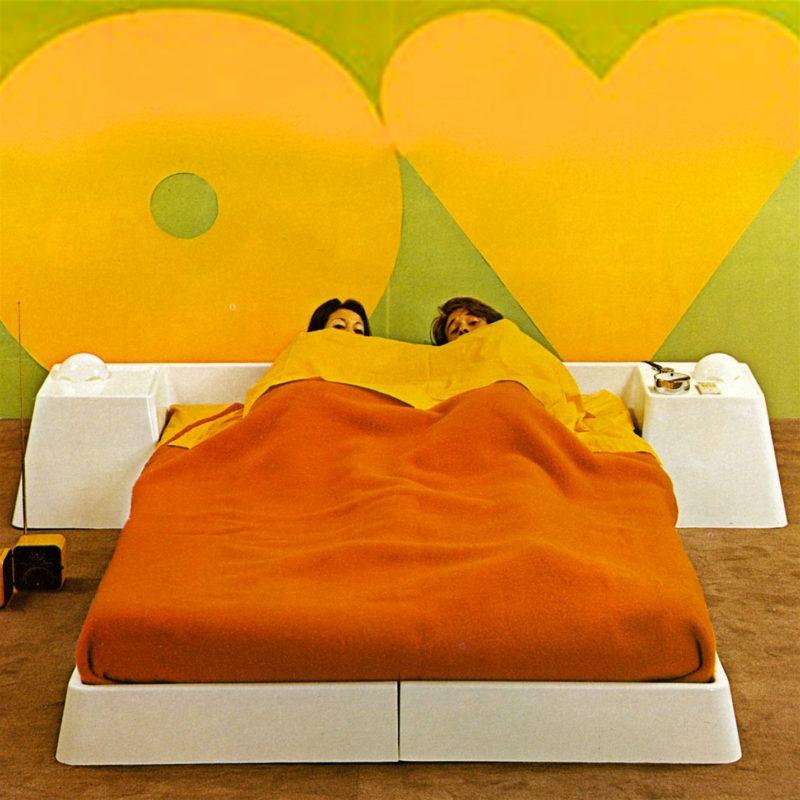 Designtel - Fibreglass Bed Suite, Marc Held for Prisunic