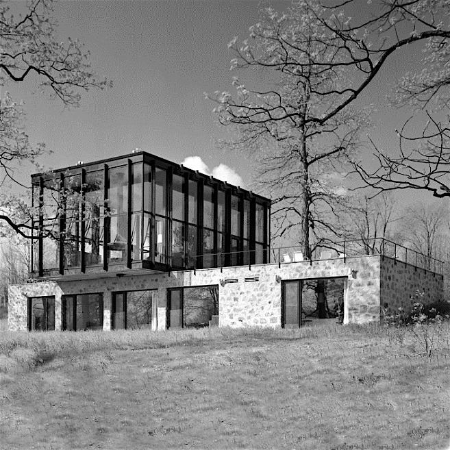 Designtel - Wiley House, Philip Johnson