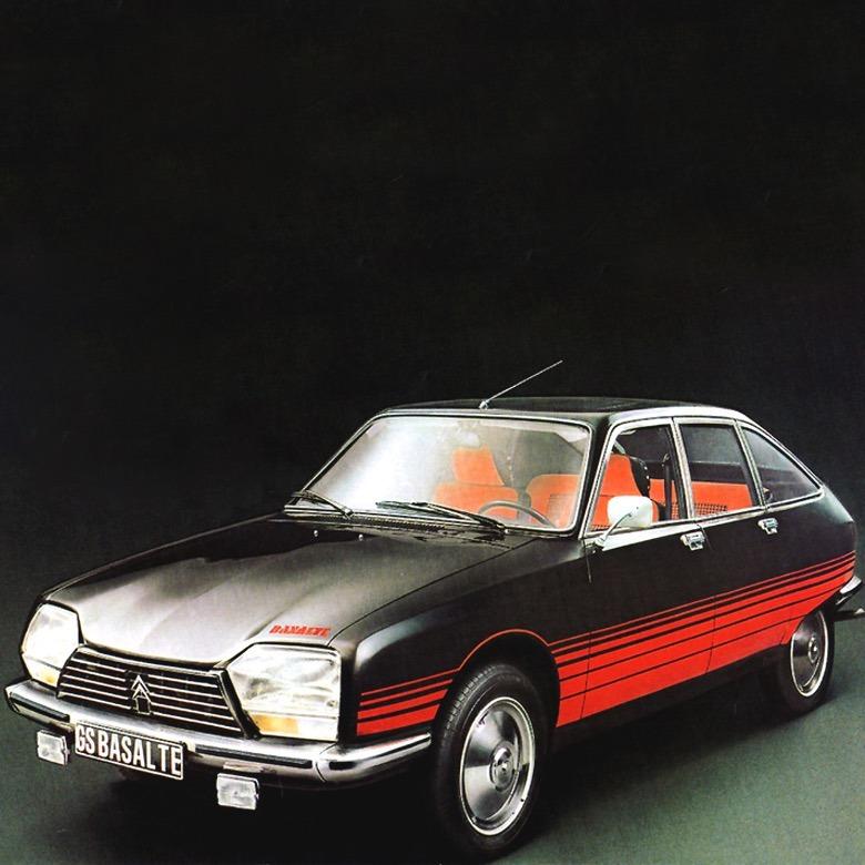 Designtel - Citroën GS Basalte, Robert Opron