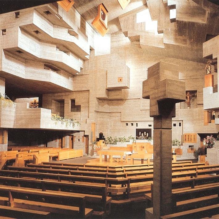 Designtel - St. Nicolas Church, Walter Förderer