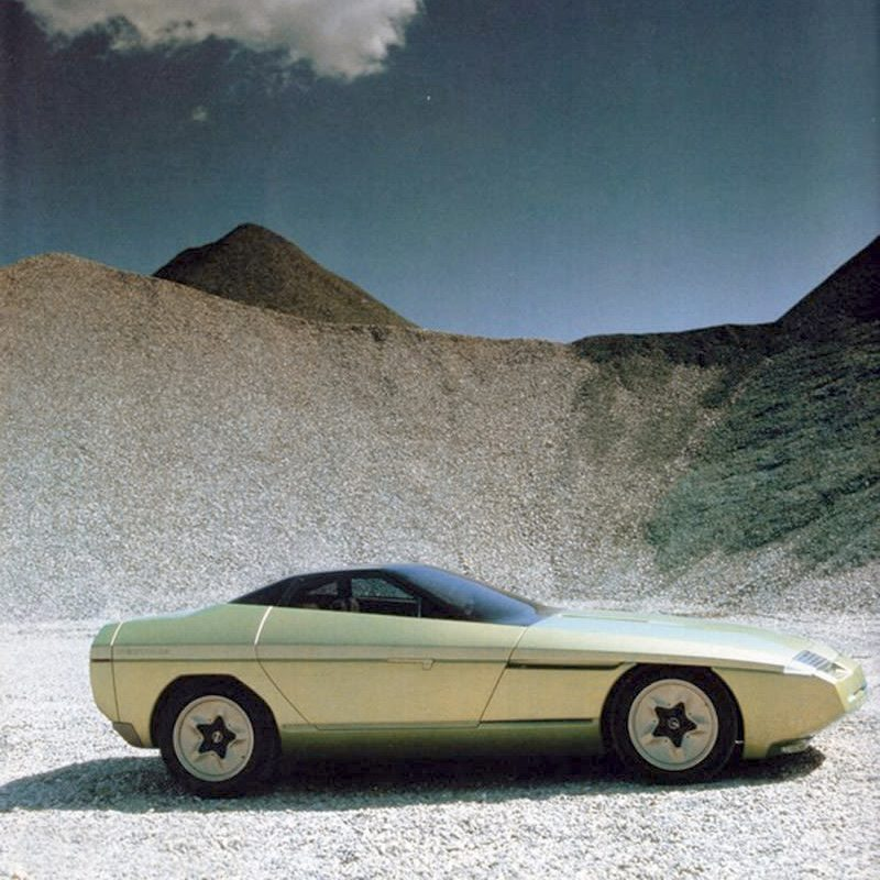 Designtel - Chevrolet Ramarro, Bertone