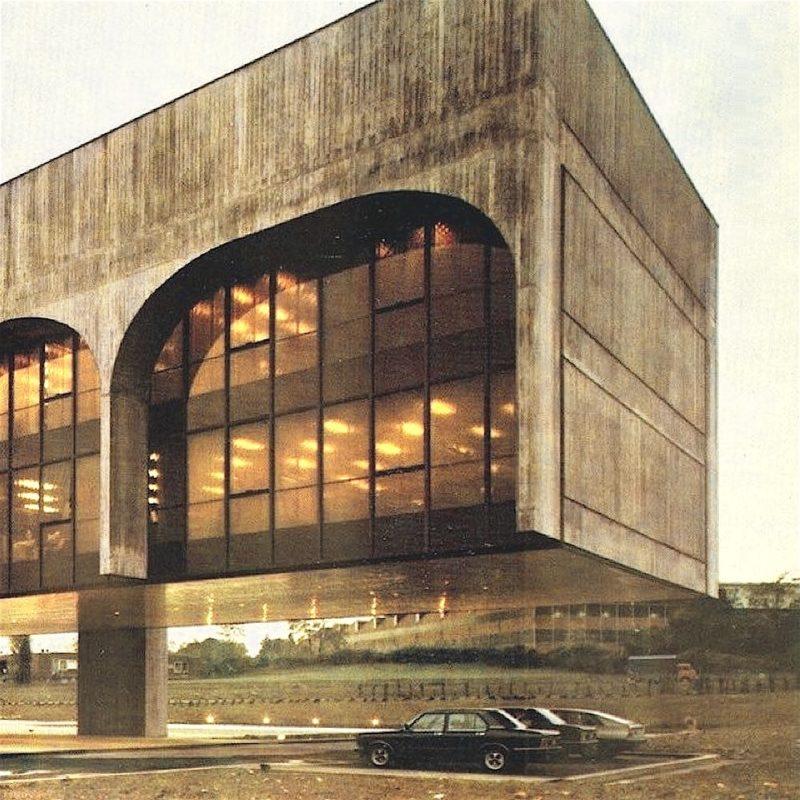 Designtel - FATA Headquarters, Oscar Niemeyer