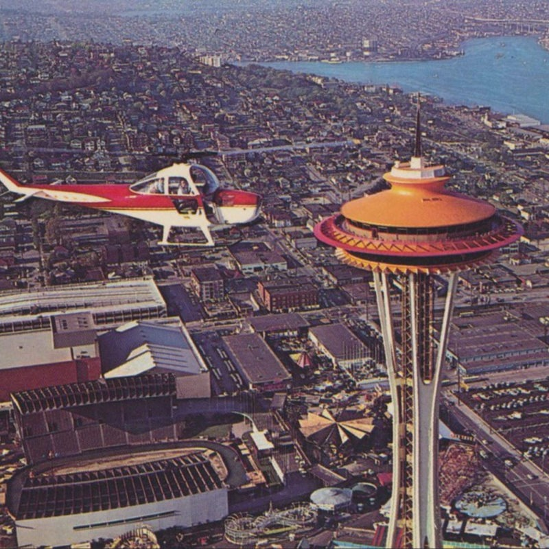 Designtel - Space Needle, Eddie Carlson and John Graham
