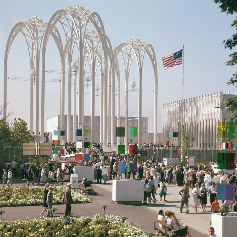 Designtel - United States Science Pavilion, Minoru Yamasaki