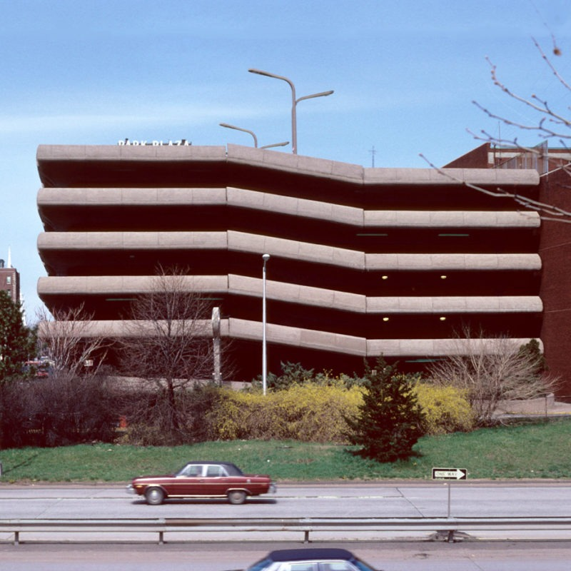 Designtel - Temple Street Parking Garage, Paul Rudolph