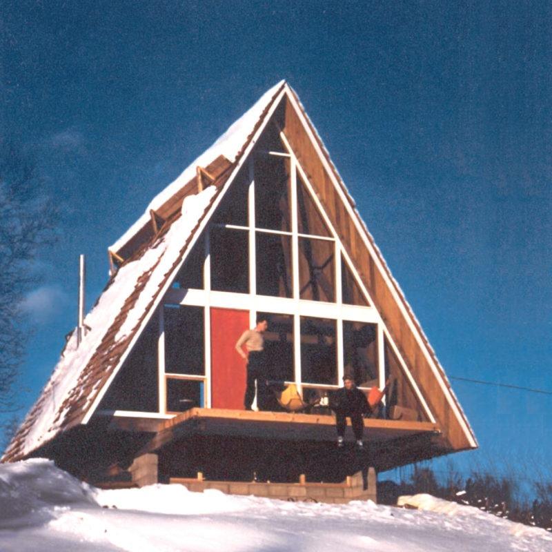 Designtel - Vermont Ski Cabin, Henrik Bull
