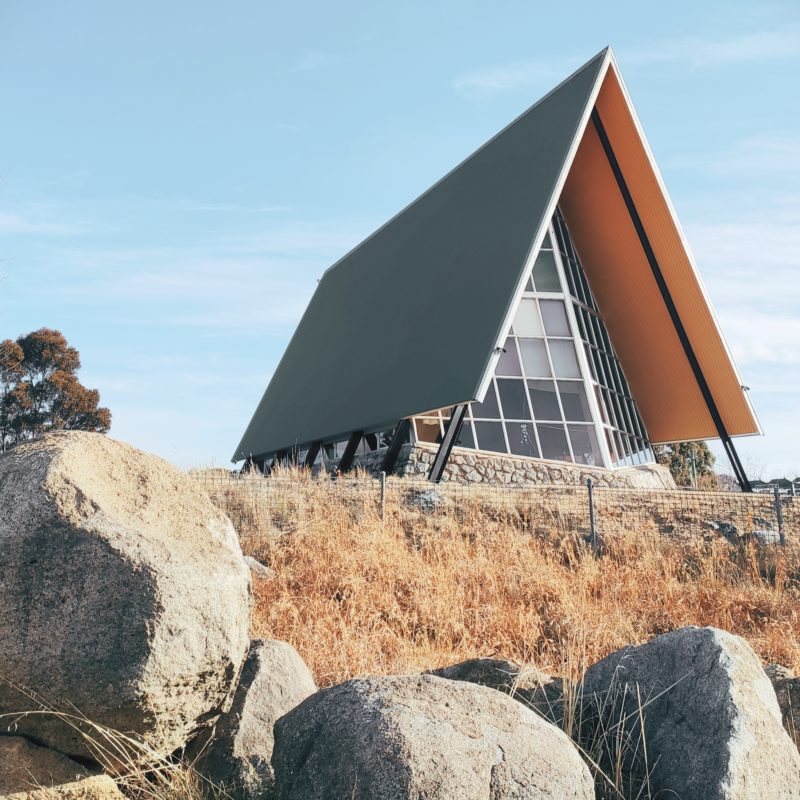 Designtel - Alpine Uniting Church Jindabyne, Architect Unknown