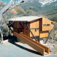 Designtel - Thredbo Ski Lodge, Harry Seidler c.1962. Photo by Max Dupain
