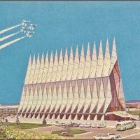 Designtel - Air Force Academy Cadet Chapel, Walter Netsch