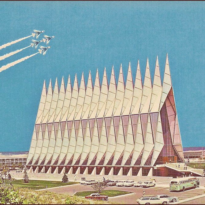 Designtel - Air Force Academy Cadet Chapel, Walter Netsch