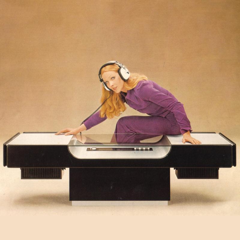 Designtel - Music Table 3108 RA, Ilse c. 1974