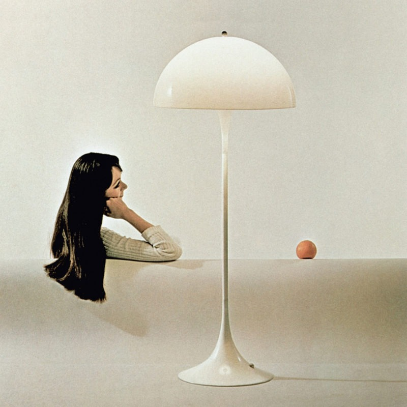 Designtel - Panthella Lamp, Verner Panton c. 1971