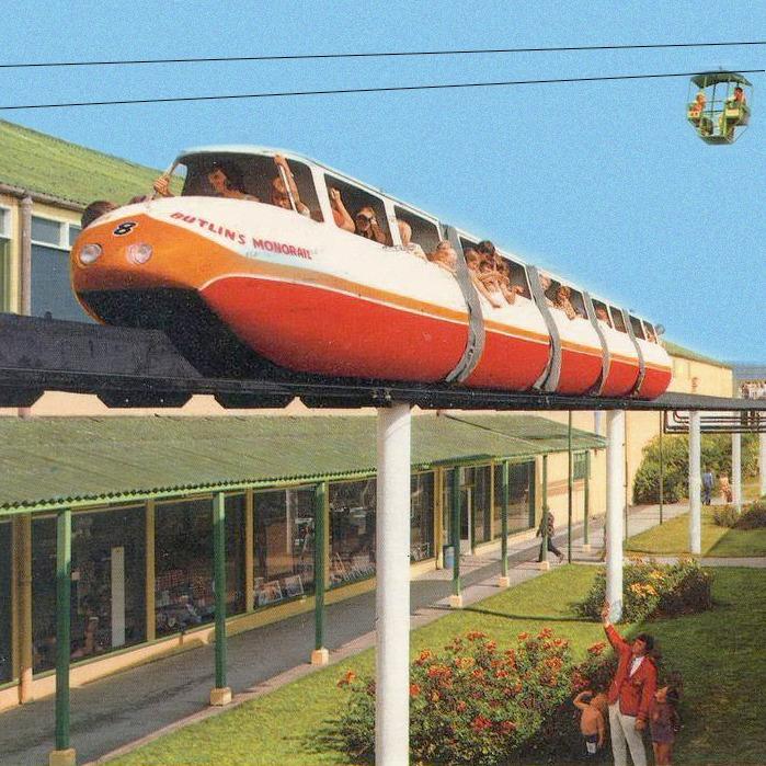 Designtel - Butlin's Skegness Monorail c. 1965