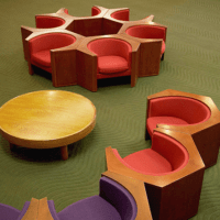 Designtel - ICC Kyoto Seating, Isamu Kenmochi c. 1966